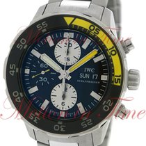 IWC Aquatimer Automatic Chronograph 44mm, Black Dial -...