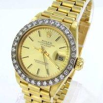 Rolex Datejust Damenuhr18kt Gold 750er 6917 Brillanten...