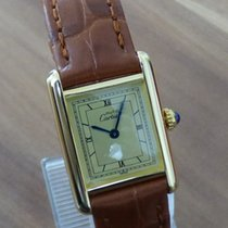 Cartier Must Tank Vermeil revisioniert