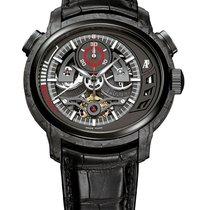 Audemars Piguet Millenary Carbon One Tourbillon Chronograph Watch