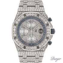 Audemars Piguet Royal Oak Offshore Titanium Full-Iced DIAMONDS