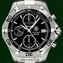 TAG Heuer Aquaracer Automatic Chronograph 41mm Black Dial ...