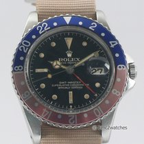 Rolex GMT Master 1675 Pepsi Gilt Chapter Ring Exclamation PCG