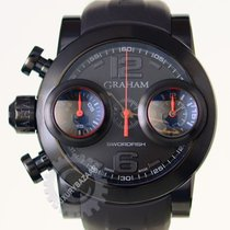 Graham Swordfish Booster Mens Automatic Chronograph Watch...