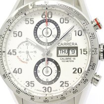 TAG Heuer Polished Tag Heuer Carrera Calibre 16 Chronograph...