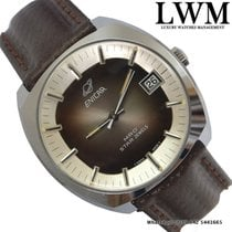 Enicar MRO Star Jewels 160-71-01 date brown dial 1970's