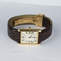 Cartier Tank 18 K Gelbgold  Quarz