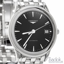 Longines Flagship Automatic 36mm Watch Black Dial Date Ref...