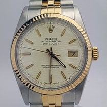 Rolex Datejust 36mm / 2 Tone / Fluted Bezel / Jubilee / 16013