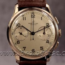 Breilting Vintage 18kt. Red Gold Ref. 782 Chronograph Cal....