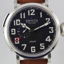 Zenith Montre d'Aeronef Pilot Type 20 GMT # K2711 Ungetragen