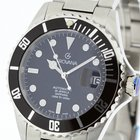 Grovana Swiss Made Automatic Diver Watch Black Bezel NEW 2Y...