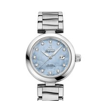 Omega [NEW] 42530342057003 De Ville Ladymatic Blue Pearl Diamonds
