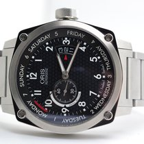 Oris Aviation BC 4 BC4 Small Second, Pointer Day