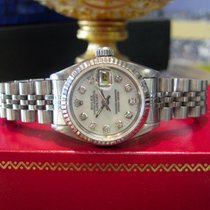 Rolex Datejust Stainless Steel White Gold Mother-of-pearl Dial...