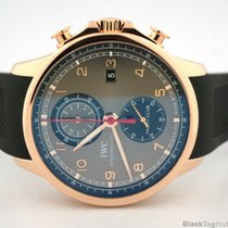 IWC Portuguese 18k Rose Gold Yacht Club Chronograph IW390202