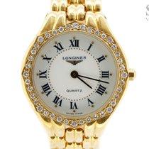Longines 18K Gold Diamonds