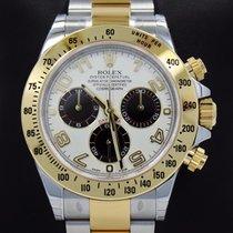 Rolex Daytona 116523 Cosmograph Tow-tone 18k Yellow Gold &...