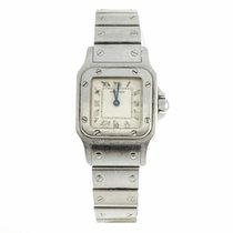 Cartier Santos Lady 24mm Steel Quartz Watch 1565 (Pre-Owned)