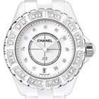 Chanel H2430 J12 Quartz 38mm Diamond Unisex Watch