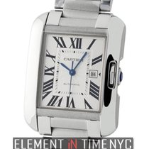 Cartier Tank Collection Tank Anglaise Medium 30mm Stainless...
