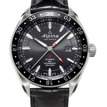 Alpina ALPINER GMT 4 - 100 % NEW - FREE SHIPPING