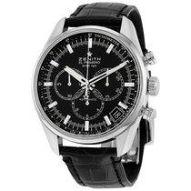 Zenith El Primero 36'000 VpH Black Dial Chronograph...