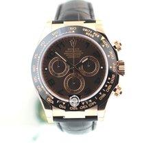 勞力士 (Rolex) 116515 Daytona Everose Choco Dial Leather Strap