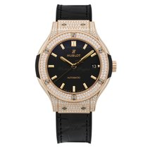 Hublot Classic Fusion King Gold Pave Automatic 38mm