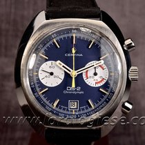 Certina Ds-2 Chronolympic Ref. 8601 Blue Dial Xl Chronograph...