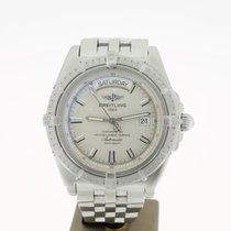 Breitling HeadWind Day date White Dial 43mm (B&P2005) MINT