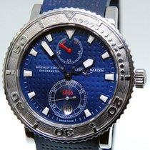 Ulysse Nardin Mens Blue Max Stainless Steel Mens Watch...