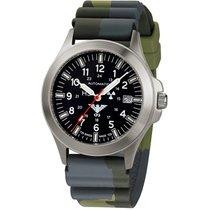 KHS Uhren Herrenuhr Platoon Titan Automatik KHS.PTA.DC3