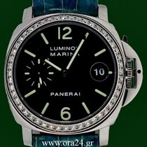 Panerai Luminor Marina Automatic PAM71 Original Diamonds...