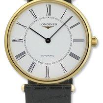 Longines La Grande Classique Automatic 18kt Gold Mens Watch...