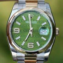 Rolex 116233 Datejst 116203 Factory Green Diamond Dial Steel...