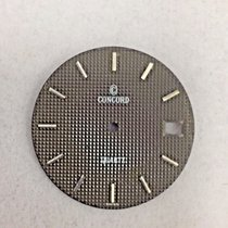 Concord Genuine Concord Dial  Brown W/ Silver Colored  Number...