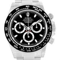 Rolex Cosmograph Daytona Black Dial Chronograph Mens Watch 116500