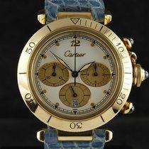 Cartier Pasha Chronograph Yellow Gold