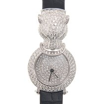 Cartier Bestiaire 18k White Gold Silver Quartz HPI00767