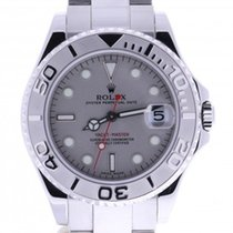 Rolex Yacht-master 168622 35 Millimeters Silver Dial