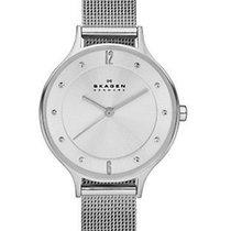 Skagen Womens Anita Watch - Silver Tone - Mesh Bracelet