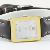雷达 (Rado) Diastar Herren Uhr 34mm Mit Orig. Stahl/gold Armband...