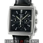 TAG Heuer Monaco Chronograph Black Dial 38mm Reference #:...