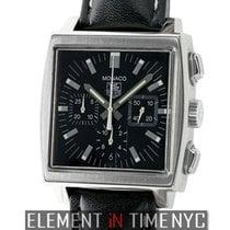 TAG Heuer Monaco Chronograph Black Dial 38mm Ref. CW21111.FC6177