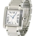 Cartier Tank Francaise Gents in Stainless Steel, Ref: 2302