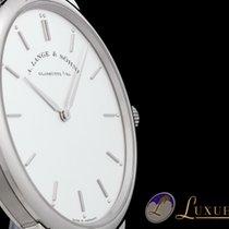 A. Lange & Söhne Saxonia Thin Handaufzug 18kt Weissgold 40mm