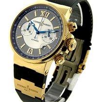 Ulysse Nardin Maxi Marine Chronograph in Rose Gold