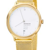 Mondaine Quartz 38mm Helvetica No 1 Holiday Edition MH1.L2211.SM