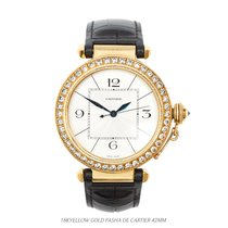 Cartier Pasha 42mm Diamond Bezel WJ120251